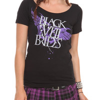 Black Veil Brides Slash Back Girls T-Shirt | Hot Topic