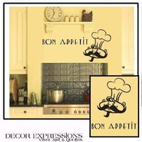 BON APPETIT Wall Decal by decorexpressions