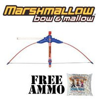 Bow & Mallow Marshmallow Shooter w/ Free Bag of Marshmallow Ammo
