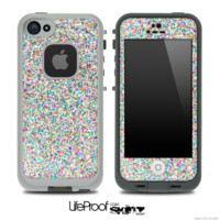 Colorful Small Sprinkles Skin for the iPhone 5 or 4/4s LifeProof Case - iPhone