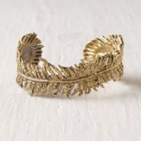 Peacock Feather Cuff at Free People Clothing Boutique