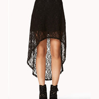 High-Low Lace Skirt | FOREVER 21 - 2053947867