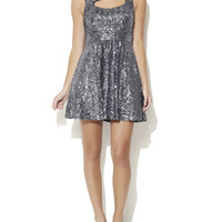 Full Skirt Sequin Dress | Shop Dresses at Arden B