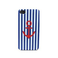Blue Stripes Navy Lovers Cases for Iphone 4/4s