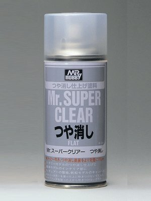 Gundam Paint Mr. Hobby Mr. Super Clear Flat 170ml B-514