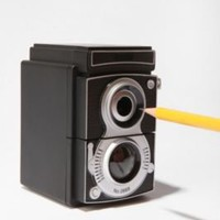 UrbanOutfitters.com &gt; Camera Pencil Sharpener