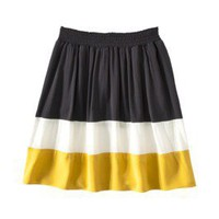 Product: Mossimo Womens Elastic Waist Colorblock Skirt - Assorted Colors
