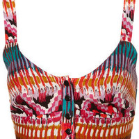 Aztec Print Soft Bralet - Tops  - Apparel  - Topshop USA