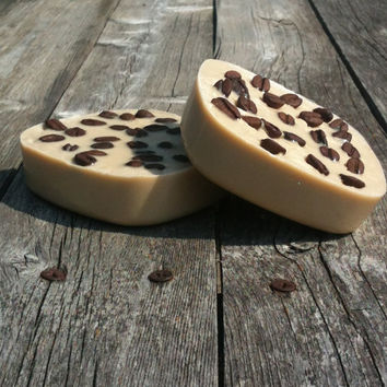 Irish Creme Coffee Bean Shea Butter Soap