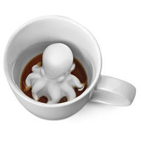 ThinkGeek :: Octopus Surprise Mug
