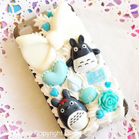 Custom Decoden for Totoro phone case for iPhone 4/4s 5 by YYKawaii