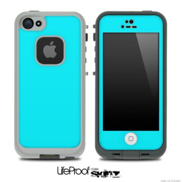 Solid Tiffany Blue Skin for the iPhone 5 or 4/4s LifeProof Case - iPhone