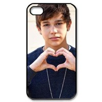 EVA Austin Mahone iPhone 4,4S Case,Snap-On Protector Hard Cover for iPhone 4,4S