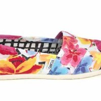 F1672Flo Toms Classics Womens Corbel Espadrilles Shoes Us 10 Uk8