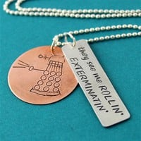 Doctor Who - Thug Dalek Necklace - Spiffing Jewelry