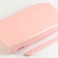Coral Pink Nintendo DS Lite Complete Full Housing Shell Case Replacement Repair w/ Hinge Set:Amazon:Video Games
