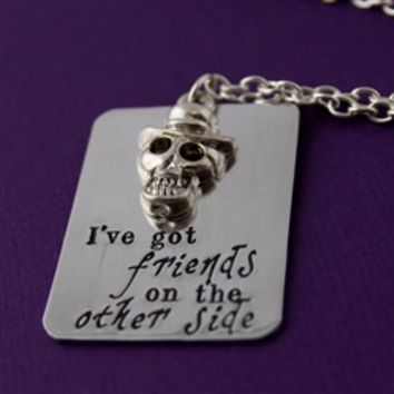 Dr. Facilier - Friends on the Other Side - Layering Necklace - Spiffing Jewelry
