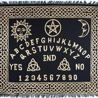 Altar Tarot Cloth: Ouija-Board