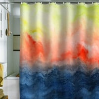 DENY Designs Home Accessories | Jacqueline Maldonado Brushfire Shower Curtain