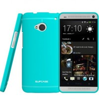 SUPCASE Premium Ultra Slim Fit TPU Case for HTC One M7 Smartphone (Blue, Free Screen Protector Included):Amazon:Cell Phones & Accessories