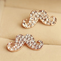 Avanti beard sexy diamond earrings cute earrings ear jewelry fashion personality