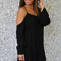 Simply Irresistible Dress: Black | Hope's