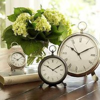 Pocketwatch Clock | Pottery Barn