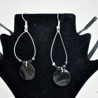 Blackened Shells Earrings | KeakiDesigns - Jewelry on ArtFire