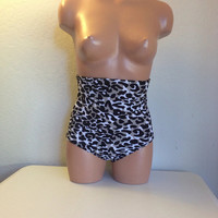 50 off grey leopard bottoms  by LoveLucyBea on Etsy