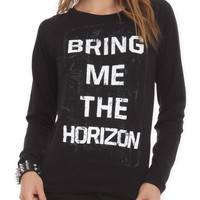 Bring Me The Horizon Logo Girls Pullover Top | Hot Topic