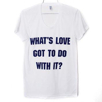 What's Love T-Shirt | Burger And Friends