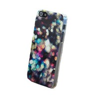Shiny Night Lights Concept Hard Cover Case for Iphone 4/4s