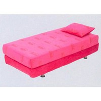 Memory Foam Full Size Mattress - color: Penny Pink