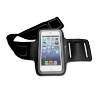 GreatShield Stretchable Neoprene Sport Armband Case with Key Storage for Apple iPhone 5 / iPod Touch 5th Generation (Black):Amazon:MP3 Players & Accessories