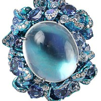 Arunashi Moonstone Ring - Jewelry Gallery At Marissa Collections - Farfetch.com