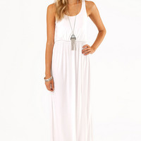 Driving Racerback Maxi Dress $33