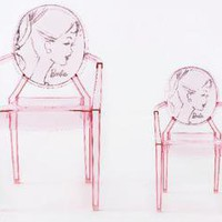 DesignShop UK -   Design Icons -  Barbie Louis Ghost