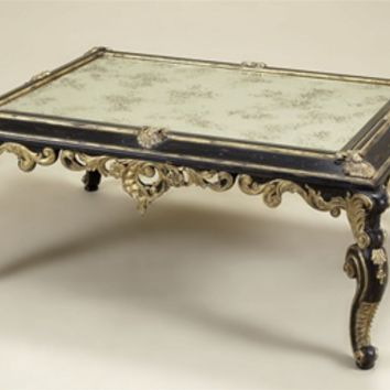 Gilded Coffee Table Old Fashion Mirror From Bernadettelivingst
