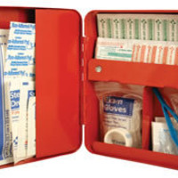 DesignShop UK - Bathroom - First Aid Box ( Red )
