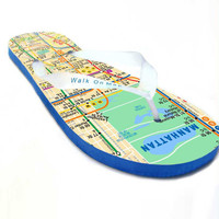 NYC Subway Flip Flops
