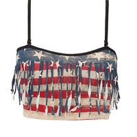 Blackheart Americana Bandeau Top | Hot Topic