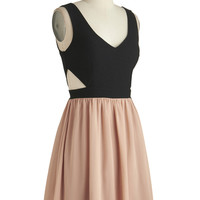 ModCloth Short Tank top (2 thick straps) A-line Best Pals Party Dress