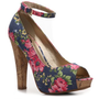 G by GUESS Crimson Floral Pump Peep Toes Pumps & Heels Women's Shoes - DSW