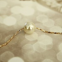 Simply Beauty Pearl Necklace | LilyFair Jewelry