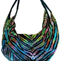 Large Handmade Tie Dye Handbag Purse