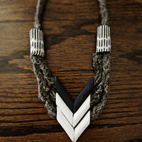 diy project: graphic chevron accessories (from pasta) | Design*Sponge