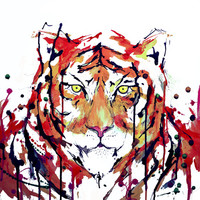 Fearful Symmetry Art Print by Marc Allante