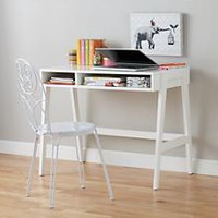 Prairie School Desk (White) in Desks & Chairs | The Land of Nod