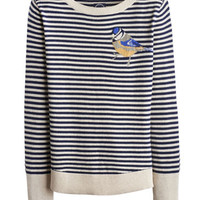 Bluetit Marsha Womens Intarsia Jumper  | Joules UK