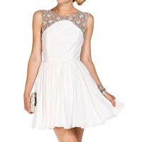 Fitzgerald Ivory Homecoming Dress
